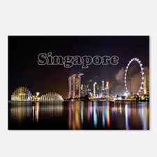 Singapore_2x3_magnet_Skyl Postcards (Package of 8)