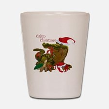 Cajun Christmas Apparel Shot Glass