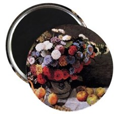 Monet Flowers And Fruits Magnet