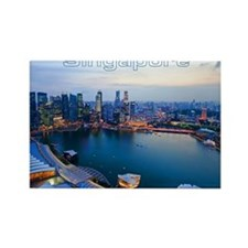Singapore_4.25x5.5_NoteCards_Skyl Rectangle Magnet