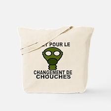 CHANGEMENT DE COUCHE - HOMME Tote Bag
