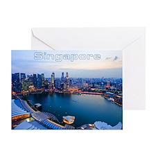 Singapore_4.25x5.5_NoteCards_Skyline Greeting Card