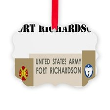 Fort Richardson with Text Ornament