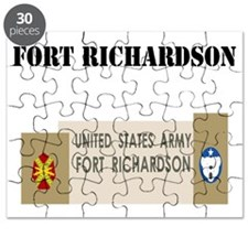 Fort Richardson with Text Puzzle