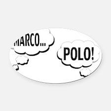 JUMEAUX MARCO POLO MATERNITÉ Oval Car Magnet