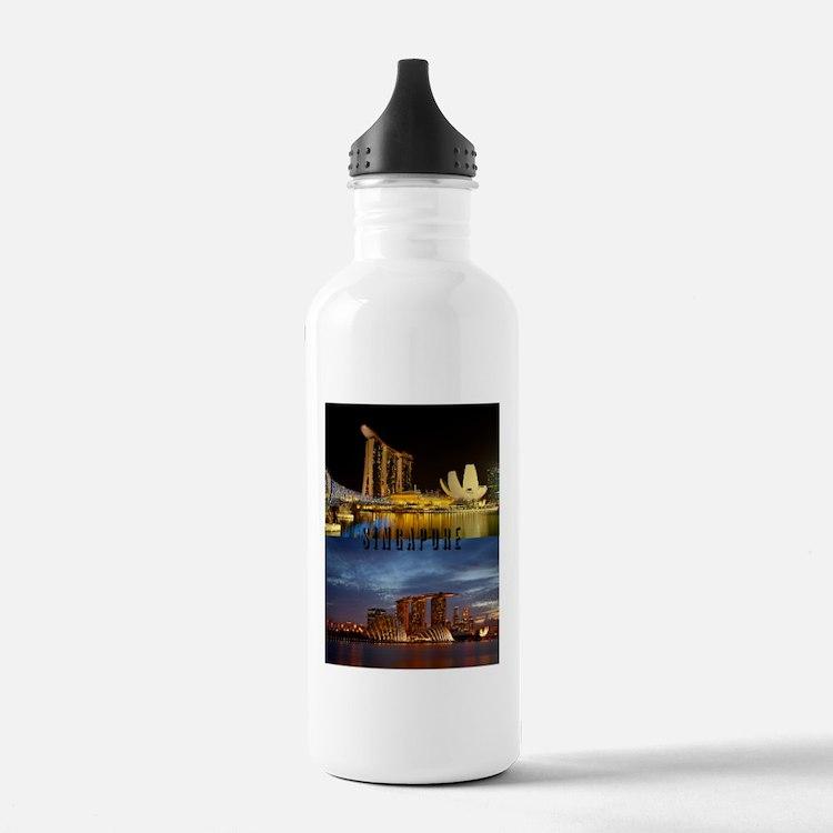 Singapore_7.355x9.45_i Water Bottle