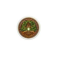 Celtic Sacred Trees - Oak Mini Button