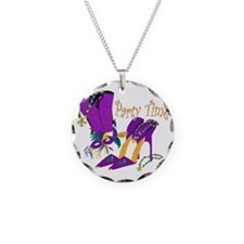 Party Time purple high heels Necklace