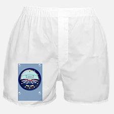 AHiphoneSnapeCaseBlue Boxer Shorts