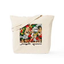 Jungle Queen Pin Ups Tote Bag
