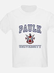 PAULK University Kids T-Shirt