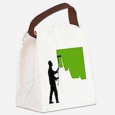 painter man Canvas Lunch Bag