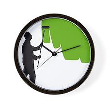 painter man Wall Clock