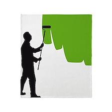 painter man Throw Blanket