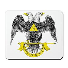 Freemasonry Scottish Rite Mousepad