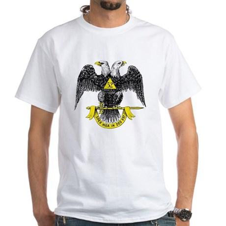 Freemasonry Scottish Rite White T-Shirt