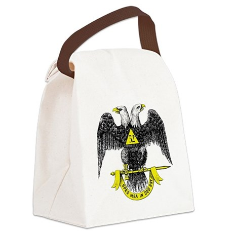 Freemasonry Scottish Rite Canvas Lunch Bag