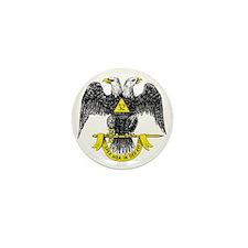 Freemasonry Scottish Rite Mini Button