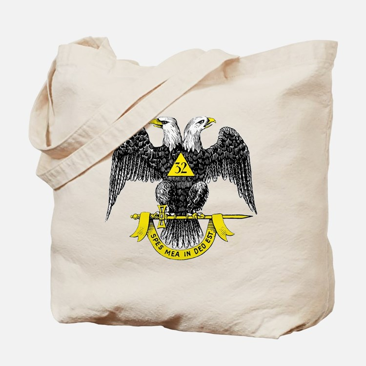 Freemasonry Scottish Rite Tote Bag