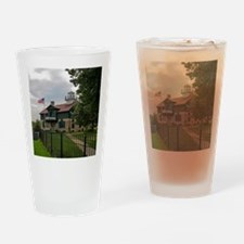 Old Michigan City Lighthouse Drinking Glass