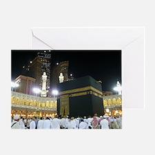 Kaaba Sharif Greeting Card