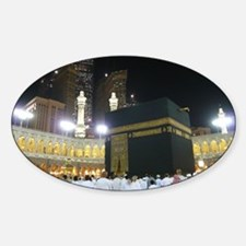 Kaaba Sharif Sticker (Oval)
