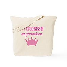 PRINCESSE EN FORMATION Tote Bag