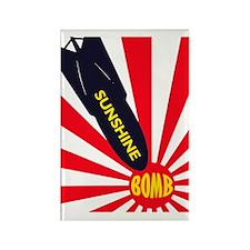 Sunshine Bomb Rectangle Magnet