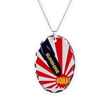 Sunshine Bomb Necklace Oval Charm
