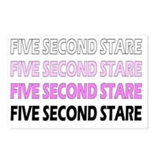 Five Second Stare DESCEND Postcards (Package of 8)