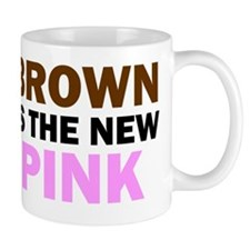 Brown Is the New Pink (Multi-Light) Mug