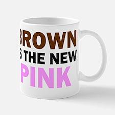 Brown Is the New Pink (Multi-Light) Mug