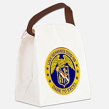 uss semmes patch transparent Canvas Lunch Bag