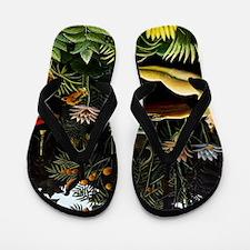 Henri Rousseau The Dream Flip Flops