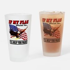 offends8 Drinking Glass