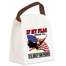 offends8 Canvas Lunch Bag