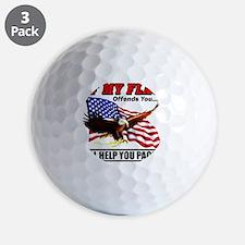offends8 Golf Ball