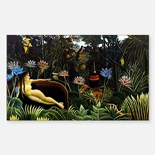 Henri Rousseau The Dream. Decal