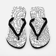Doodle #26 Flip Flops