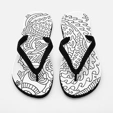 Doodle #29 Flip Flops