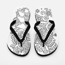 Doodle #31 Flip Flops