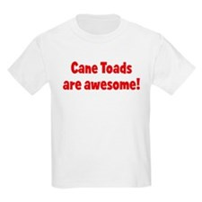 Cane Toads are awesome Kids T-Shirt