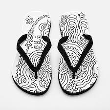 Doodle #35 Flip Flops