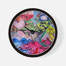 Rising Phoenix Wall Clock