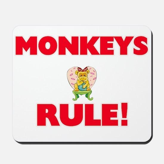 Monkeys Rule! Mousepad