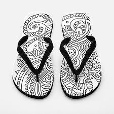 Doodle #32 Flip Flops