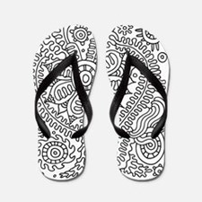 Doodle #22 Flip Flops