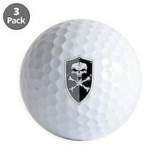 Skull Shield Golf Ball