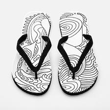 Doodle #27 Flip Flops