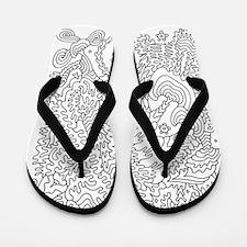 Doodle #2 Flip Flops
